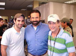 With Billy Mays