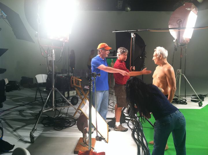 Behind the scenes of commercial and infomercial production