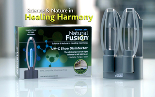 Natural Fusion UV-C Shoe Disinfector